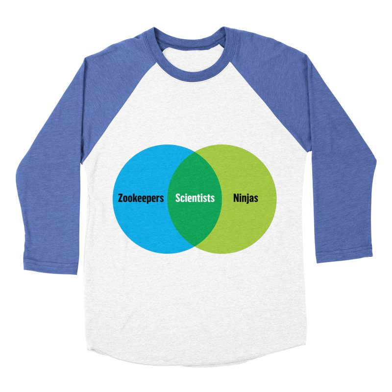 Sweet Spot Men's Baseball Triblend T-Shirt by mckibillo's Artist Shop
