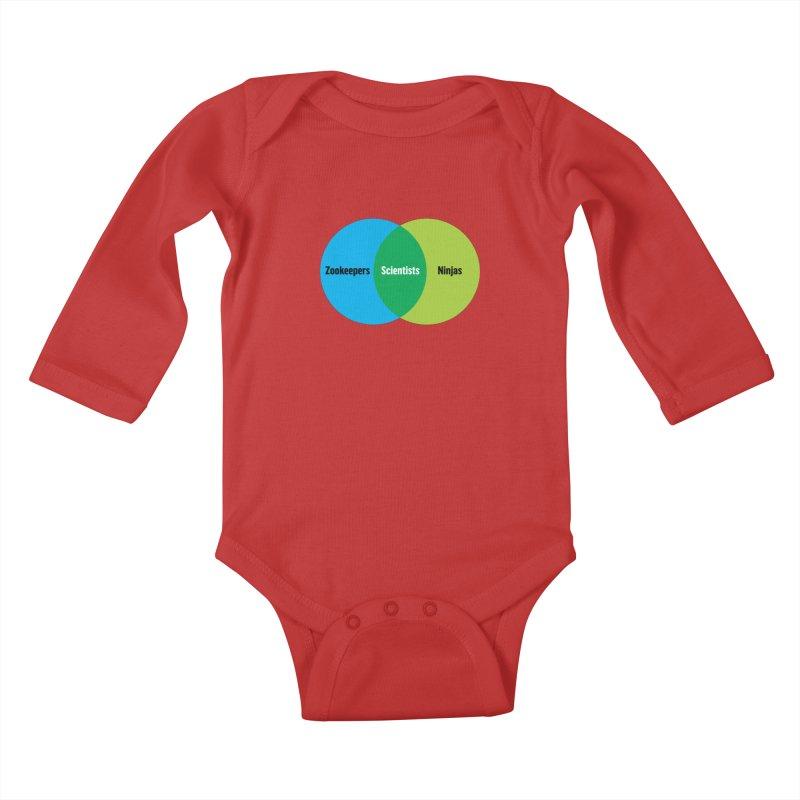 Sweet Spot Kids Baby Longsleeve Bodysuit by mckibillo's Artist Shop