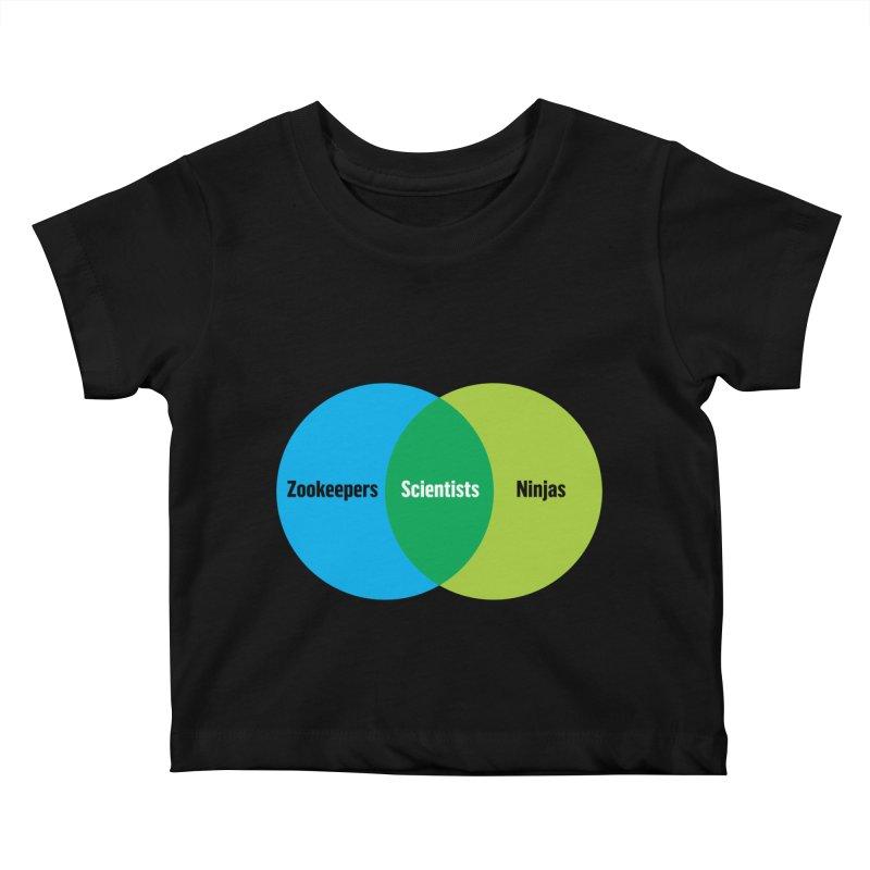Sweet Spot Kids Baby T-Shirt by mckibillo's Artist Shop