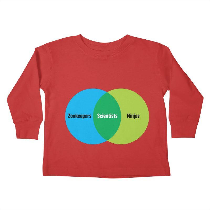 Sweet Spot Kids Toddler Longsleeve T-Shirt by mckibillo's Artist Shop