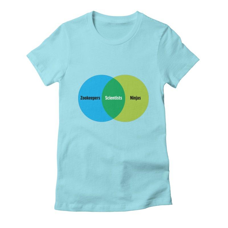 Sweet Spot Women's Fitted T-Shirt by mckibillo's Artist Shop