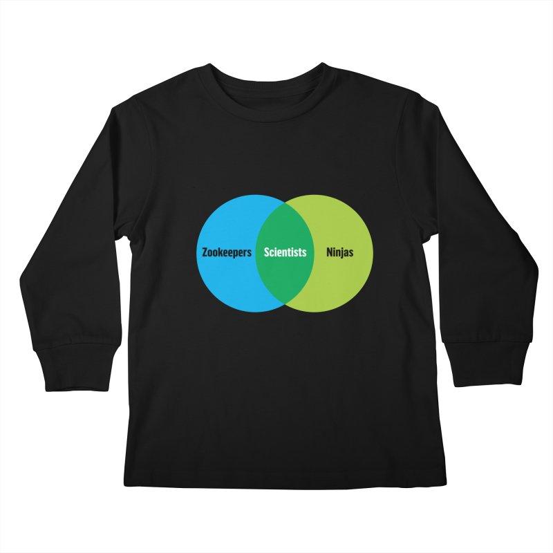 Sweet Spot Kids Longsleeve T-Shirt by mckibillo's Artist Shop