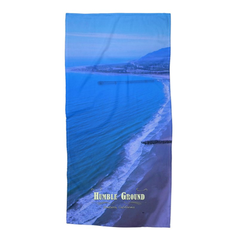 Humble Ground Ventura Beach Towel in Beach Towel by Mc Kinnis Entertainment's Artist Shop