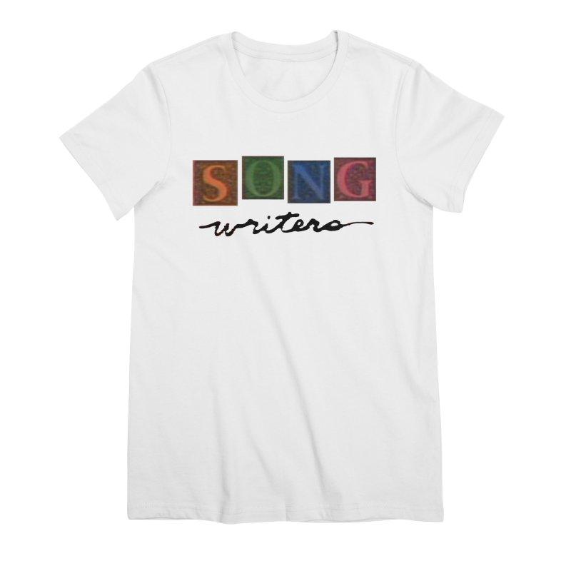 Official 1993 Songwriters logo Women's Premium T-Shirt by Mc Kinnis Entertainment's Artist Shop