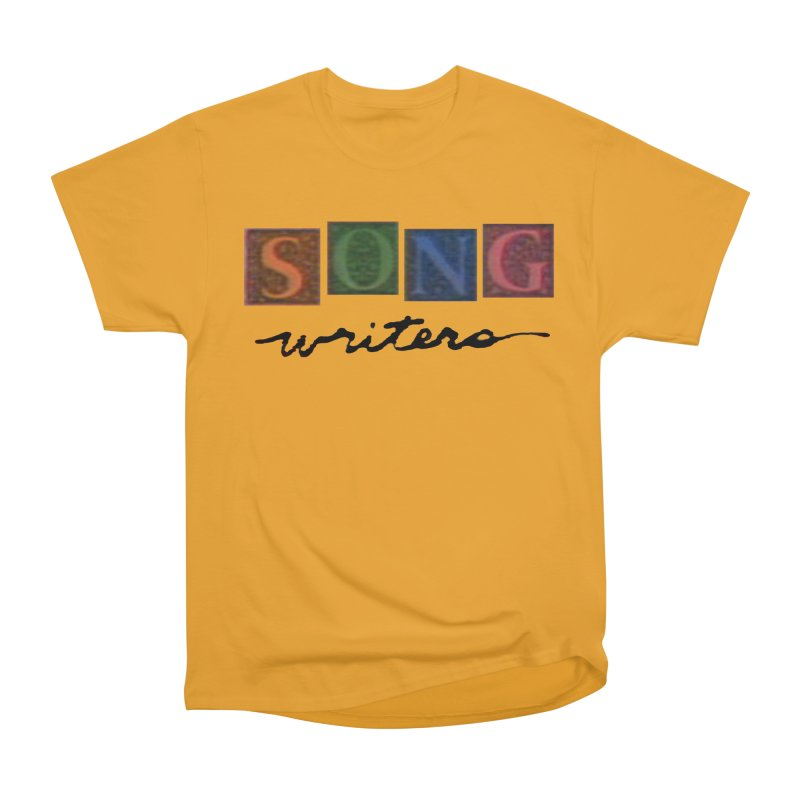 Official 1993 Songwriters logo Women's Heavyweight Unisex T-Shirt by Mc Kinnis Entertainment's Artist Shop