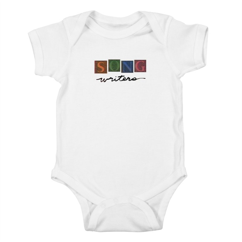 Official 1993 Songwriters logo Kids Baby Bodysuit by Mc Kinnis Entertainment's Artist Shop