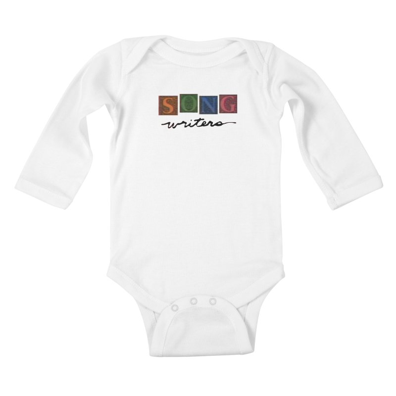 Official 1993 Songwriters logo Kids Baby Longsleeve Bodysuit by Mc Kinnis Entertainment's Artist Shop
