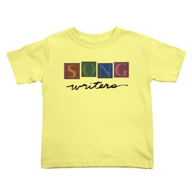 Official 1993 Songwriters logo Kids Toddler T-Shirt by Mc Kinnis Entertainment's Artist Shop