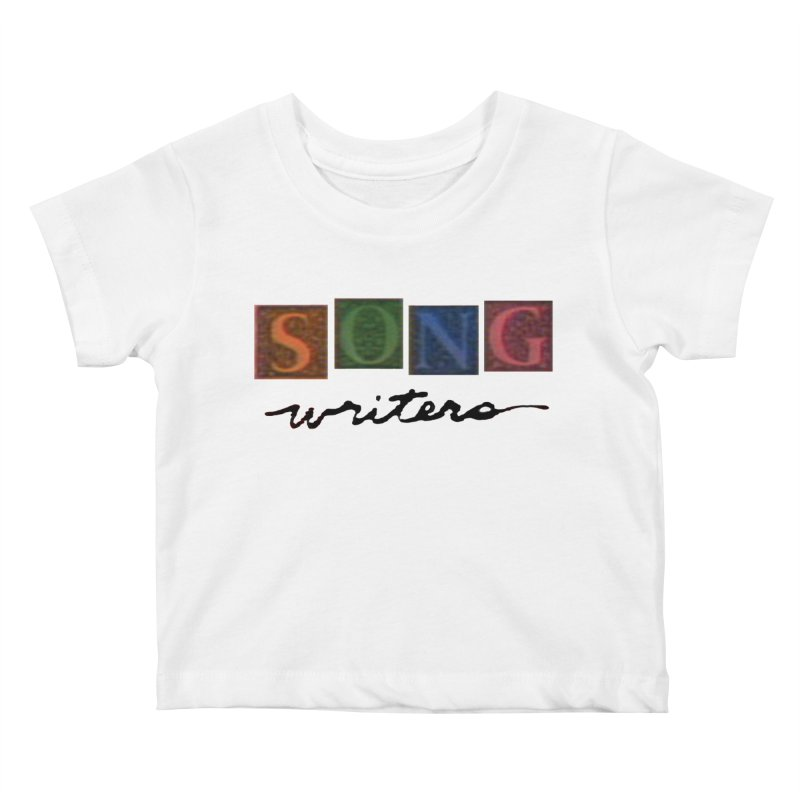 Official 1993 Songwriters logo Kids Baby T-Shirt by Mc Kinnis Entertainment's Artist Shop
