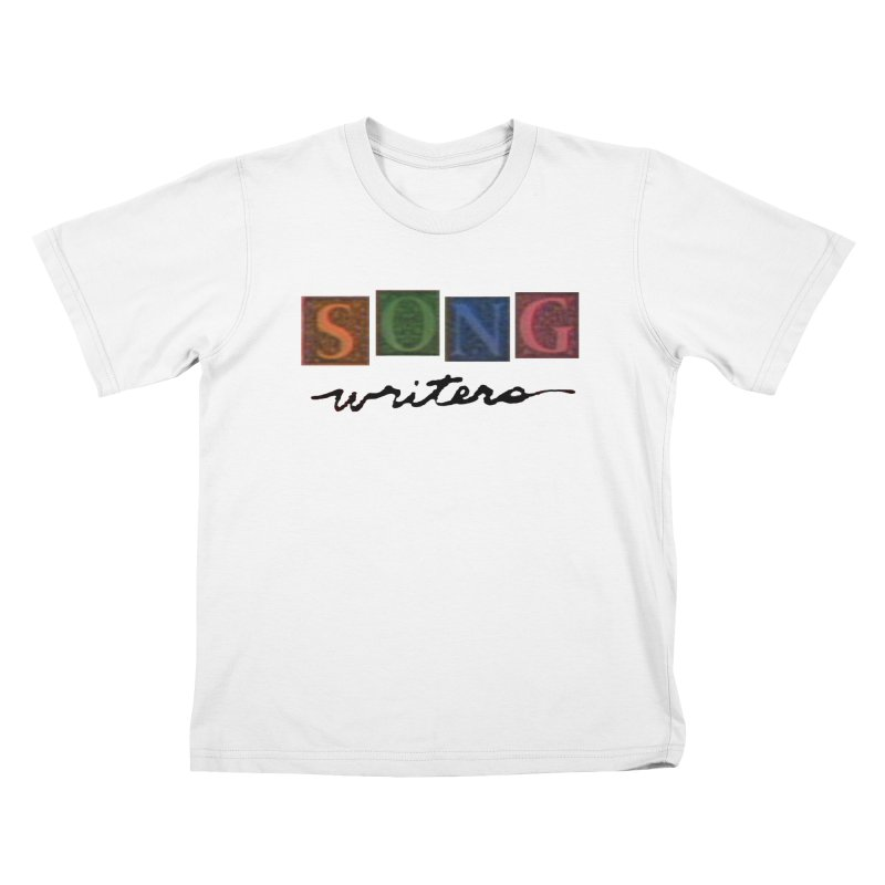 Official 1993 Songwriters logo Kids T-Shirt by Mc Kinnis Entertainment's Artist Shop