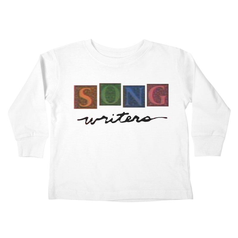 Official 1993 Songwriters logo Kids Toddler Longsleeve T-Shirt by Mc Kinnis Entertainment's Artist Shop