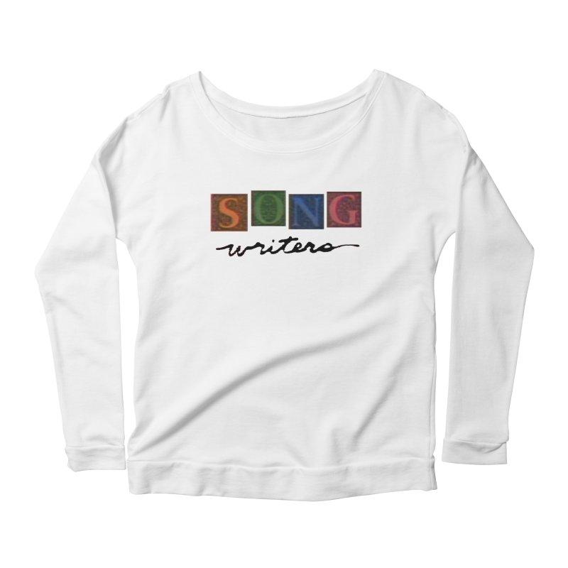 Official 1993 Songwriters logo Women's Scoop Neck Longsleeve T-Shirt by Mc Kinnis Entertainment's Artist Shop