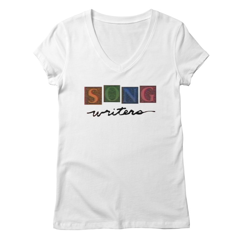Official 1993 Songwriters logo Women's Regular V-Neck by Mc Kinnis Entertainment's Artist Shop