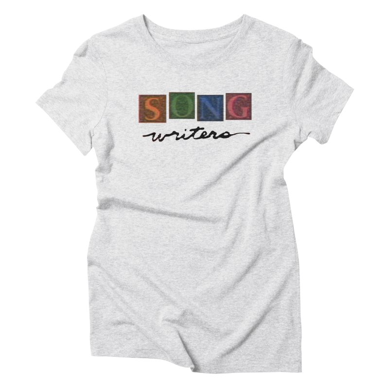 Official 1993 Songwriters logo Women's Triblend T-Shirt by Mc Kinnis Entertainment's Artist Shop
