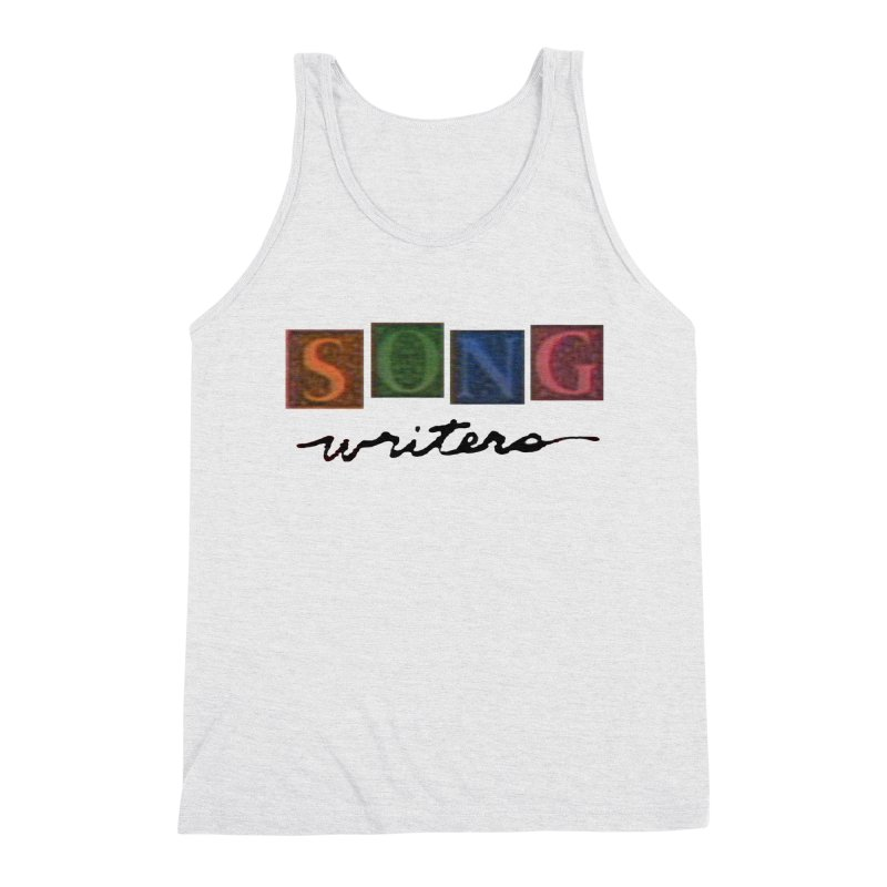 Official 1993 Songwriters logo Men's Triblend Tank by Mc Kinnis Entertainment's Artist Shop