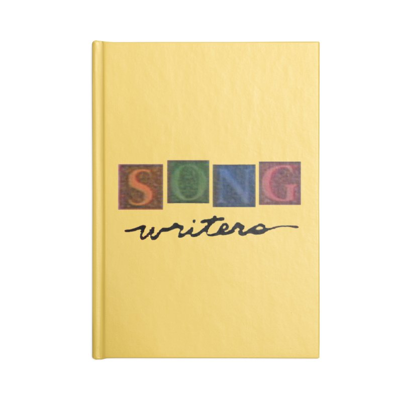 Official 1993 Songwriters logo Accessories Blank Journal Notebook by Mc Kinnis Entertainment's Artist Shop