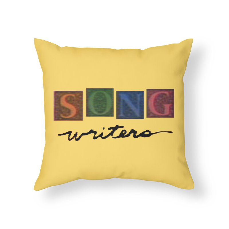 Official 1993 Songwriters logo in Throw Pillow by Mc Kinnis Entertainment's Artist Shop