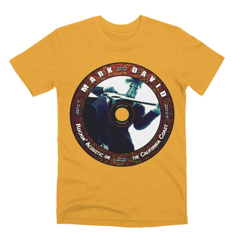 Official 2017-2020 Mark David Stamp Men's Premium T-Shirt by Mc Kinnis Entertainment's Artist Shop