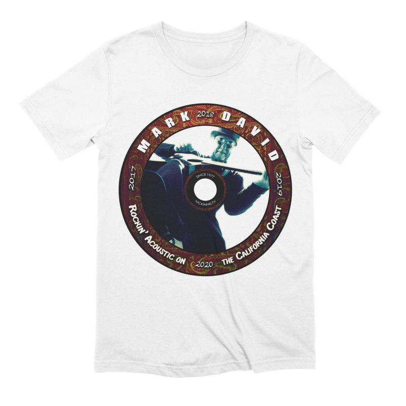 Official 2017-2020 Mark David Stamp Men's Extra Soft T-Shirt by Mc Kinnis Entertainment's Artist Shop