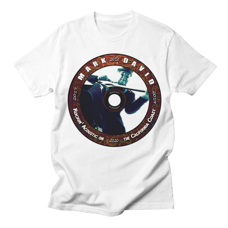 Official 2017-2020 Mark David Stamp Women's Regular Unisex T-Shirt by Mc Kinnis Entertainment's Artist Shop