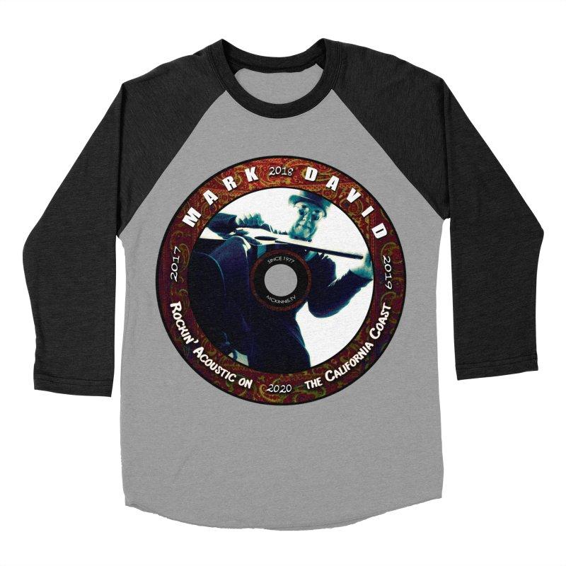 Official 2017-2020 Mark David Stamp Men's Baseball Triblend Longsleeve T-Shirt by Mc Kinnis Entertainment's Artist Shop