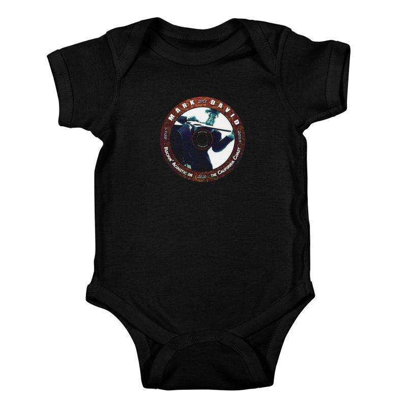 Official 2017-2020 Mark David Stamp Kids Baby Bodysuit by Mc Kinnis Entertainment's Artist Shop