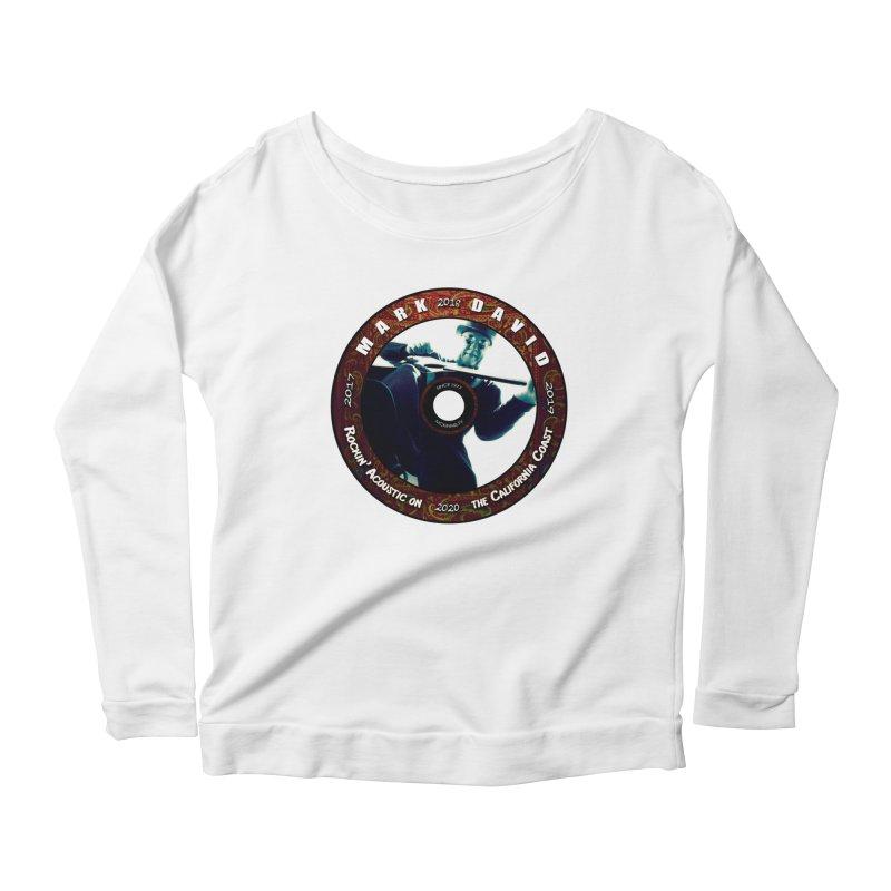 Official 2017-2020 Mark David Stamp Women's Scoop Neck Longsleeve T-Shirt by Mc Kinnis Entertainment's Artist Shop