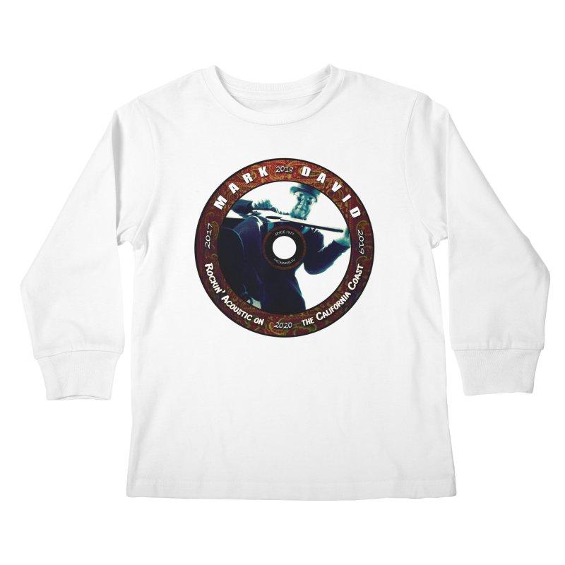 Official 2017-2020 Mark David Stamp Kids Longsleeve T-Shirt by Mc Kinnis Entertainment's Artist Shop