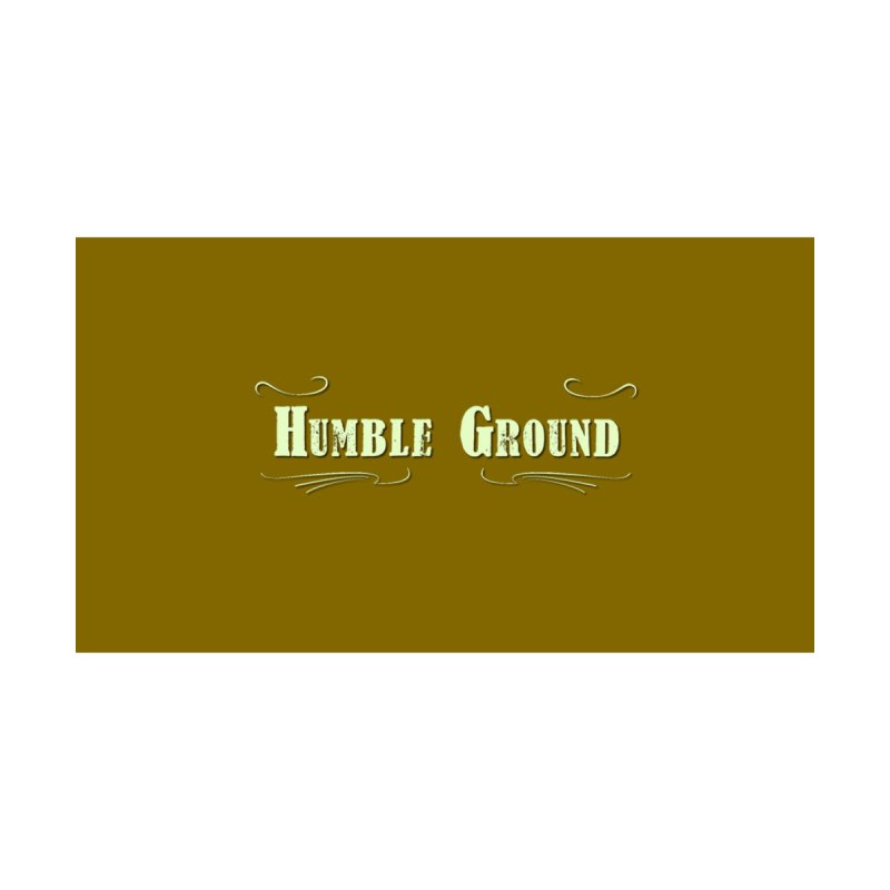 Humble Ground Logo on background Home Throw Pillow by Mc Kinnis Entertainment's Artist Shop