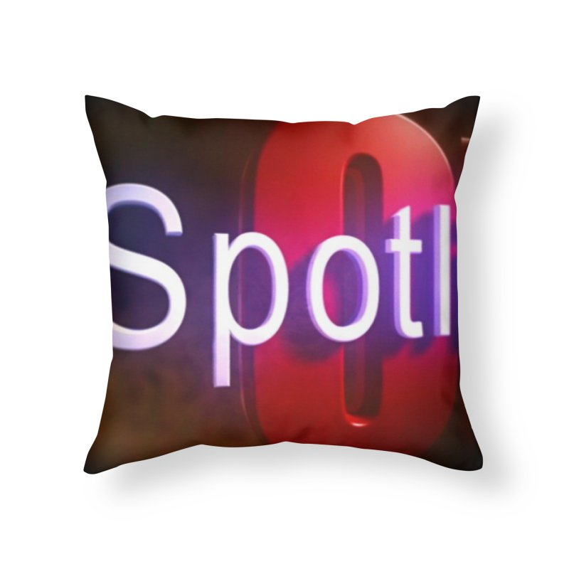 Official SpotlightON accessory in Throw Pillow by Mc Kinnis Entertainment's Artist Shop
