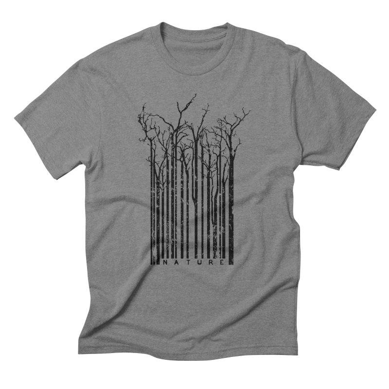 Nature's Identity Men's Triblend T-Shirt by McMaster Design
