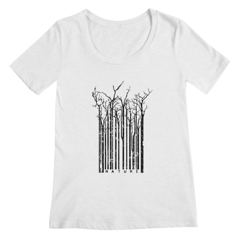 Nature's Identity Women's Scoopneck by McMaster Design