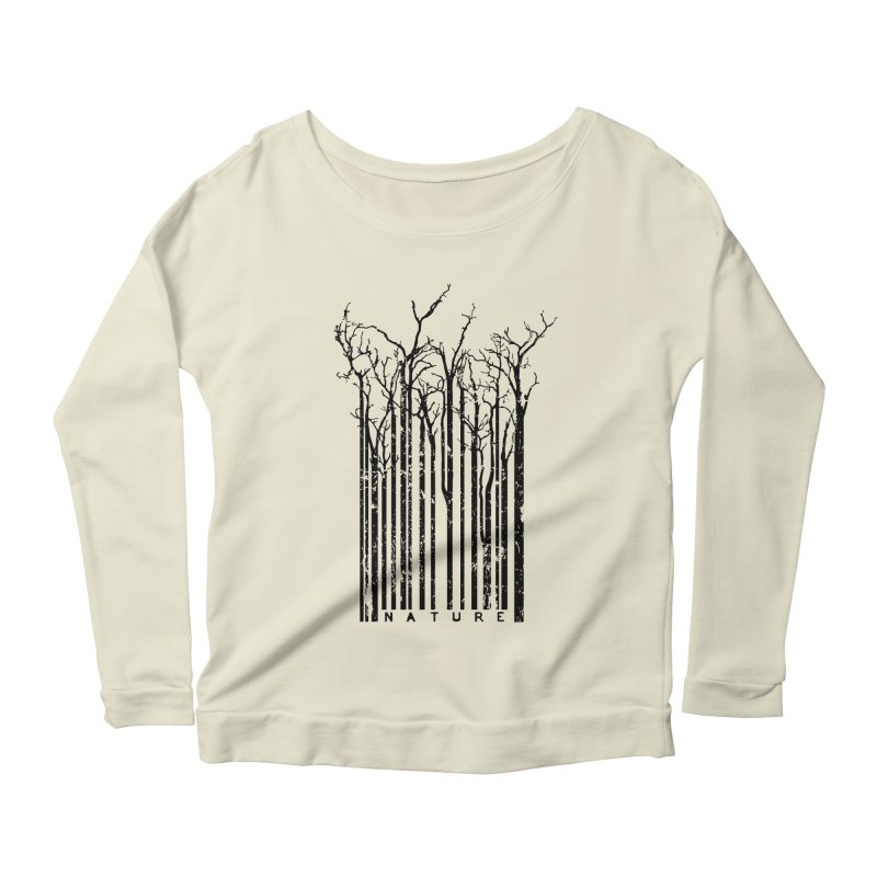 Nature's Identity Women's Longsleeve Scoopneck  by McMaster Design