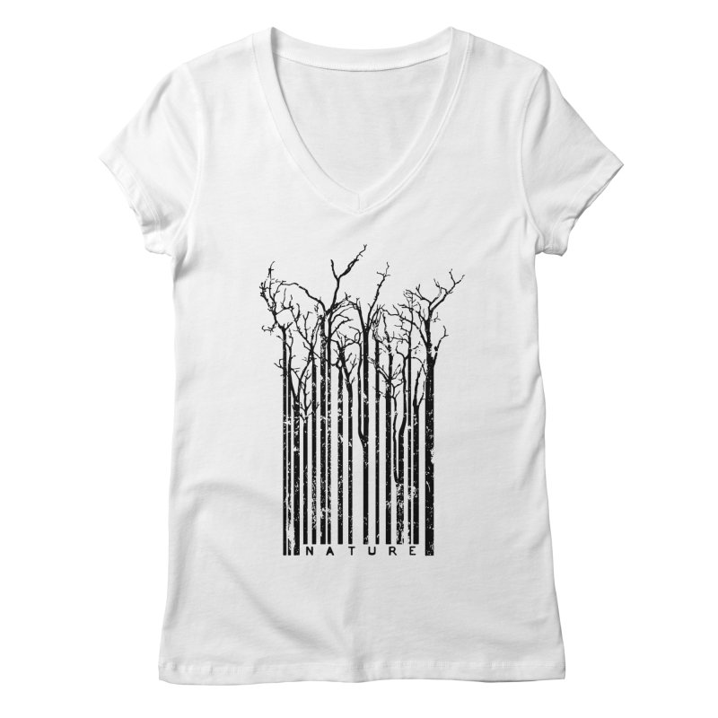 Nature's Identity Women's V-Neck by McMaster Design