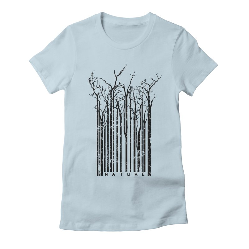 Nature's Identity Women's Fitted T-Shirt by McMaster Design