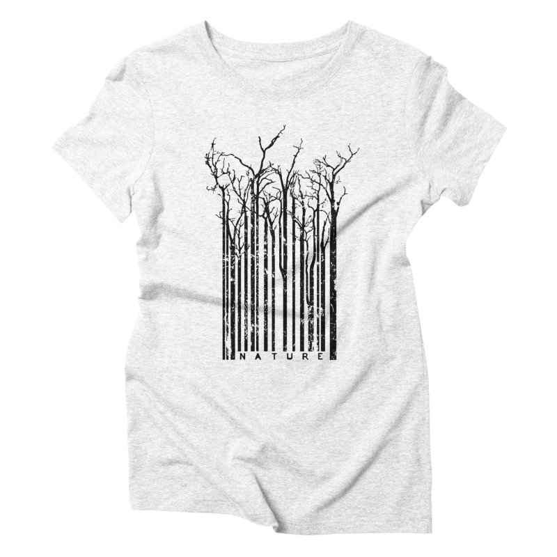 Nature's Identity Women's Triblend T-shirt by McMaster Design