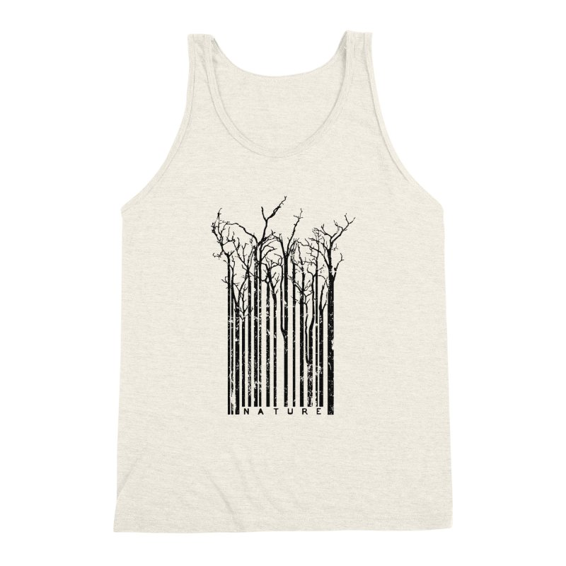 Nature's Identity Men's Triblend Tank by McMaster Design