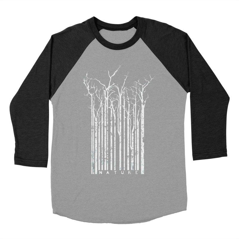 Nature's Identity II Men's Baseball Triblend Longsleeve T-Shirt by McMaster Design
