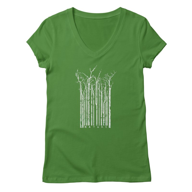 Nature's Identity II Women's V-Neck by McMaster Design