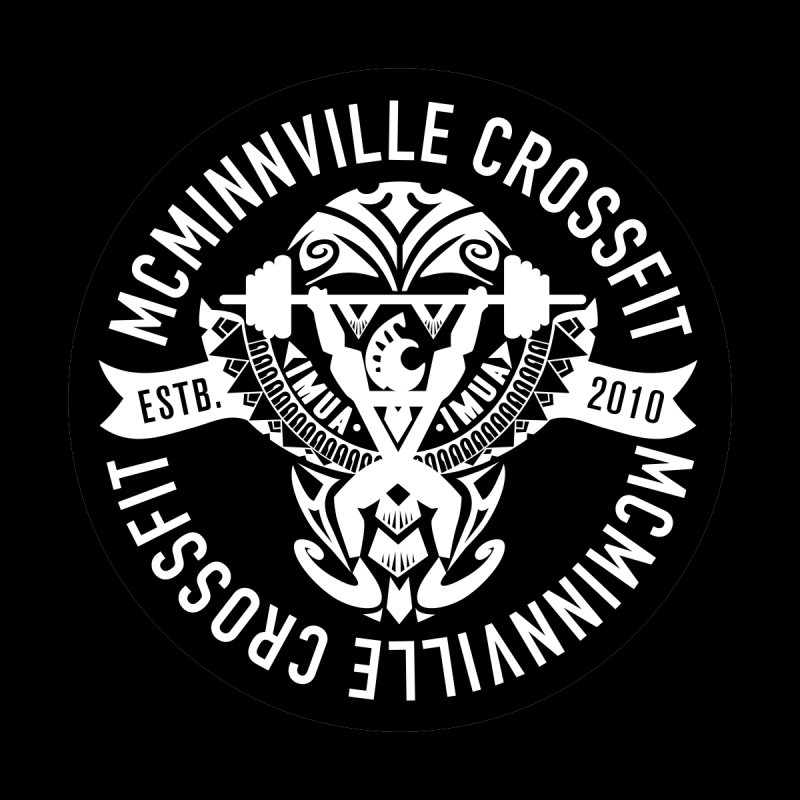 McMinnville CrossFit Tribal Men's Pullover Hoody by McMinnville CrossFit Merch