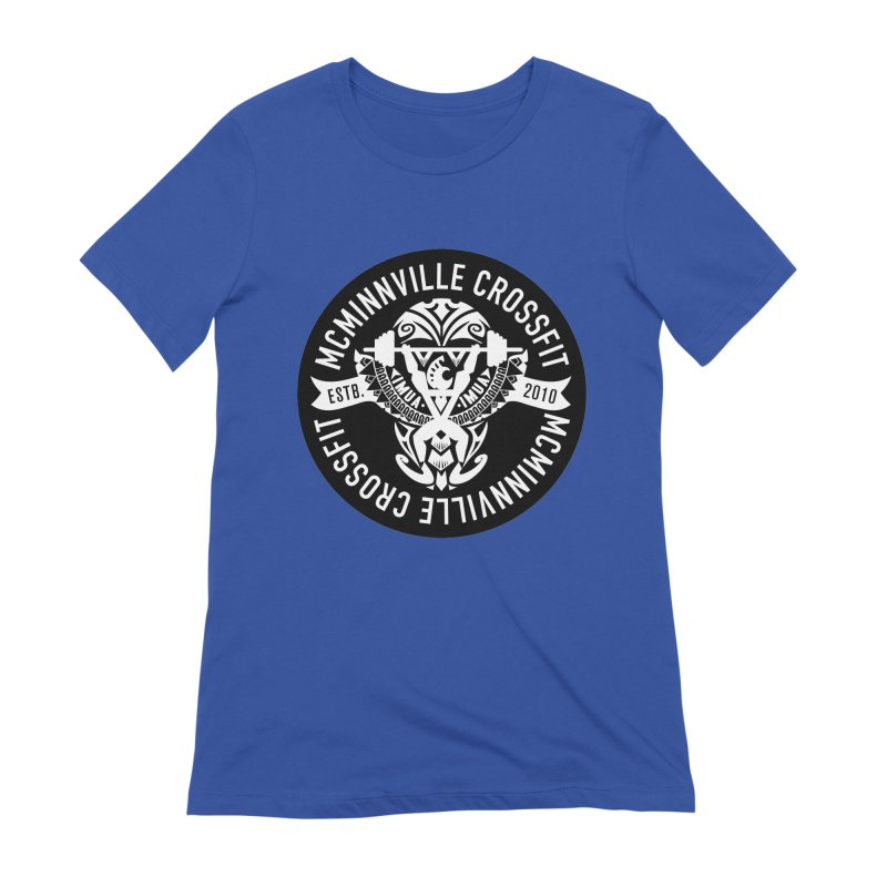 McMinnville CrossFit Tribal Women's Extra Soft T-Shirt by McMinnville CrossFit Merch