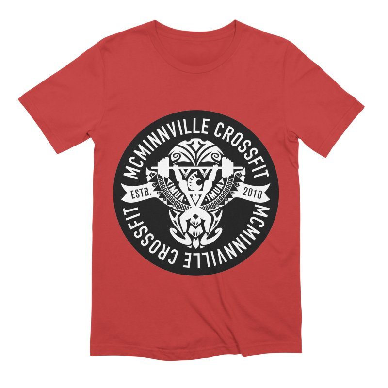 McMinnville CrossFit Tribal Men's Extra Soft T-Shirt by McMinnville CrossFit Merch