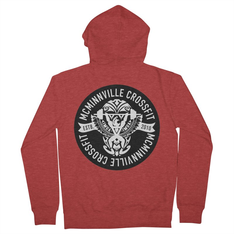 McMinnville CrossFit Tribal Women's Zip-Up Hoody by McMinnville CrossFit Merch