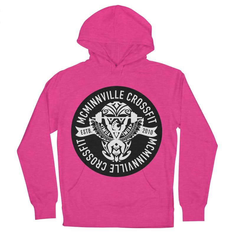 McMinnville CrossFit Tribal Men's French Terry Pullover Hoody by McMinnville CrossFit Merch