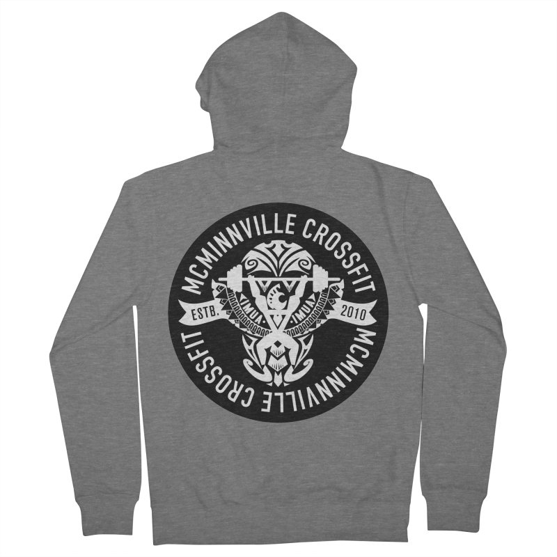 McMinnville CrossFit Tribal Women's French Terry Zip-Up Hoody by McMinnville CrossFit Merch