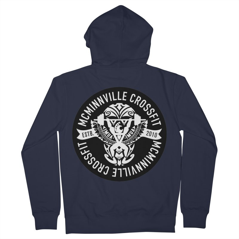 McMinnville CrossFit Tribal Men's French Terry Zip-Up Hoody by McMinnville CrossFit Merch