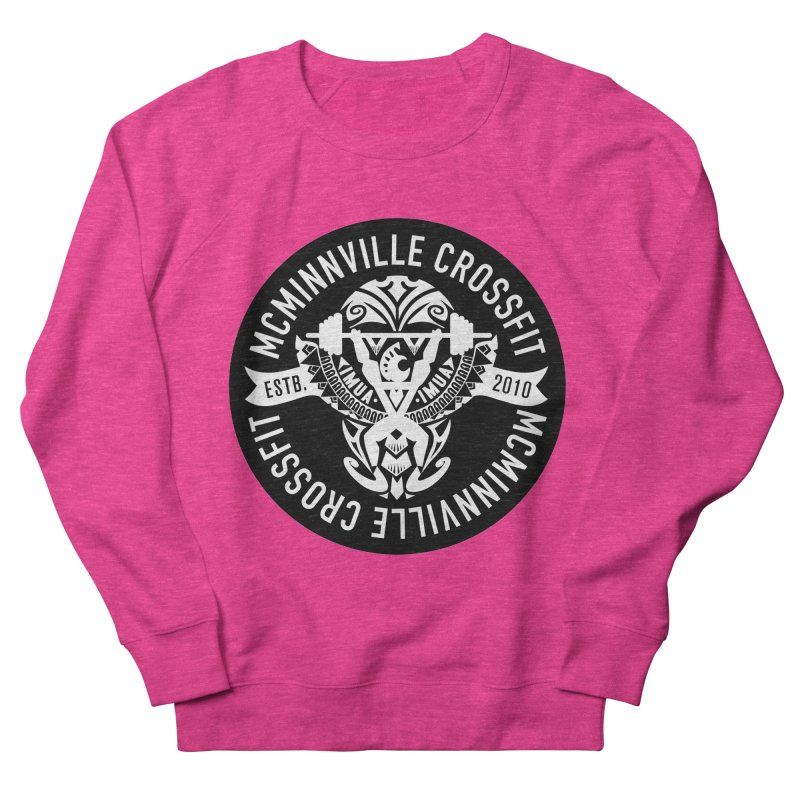 McMinnville CrossFit Tribal Men's French Terry Sweatshirt by McMinnville CrossFit Merch