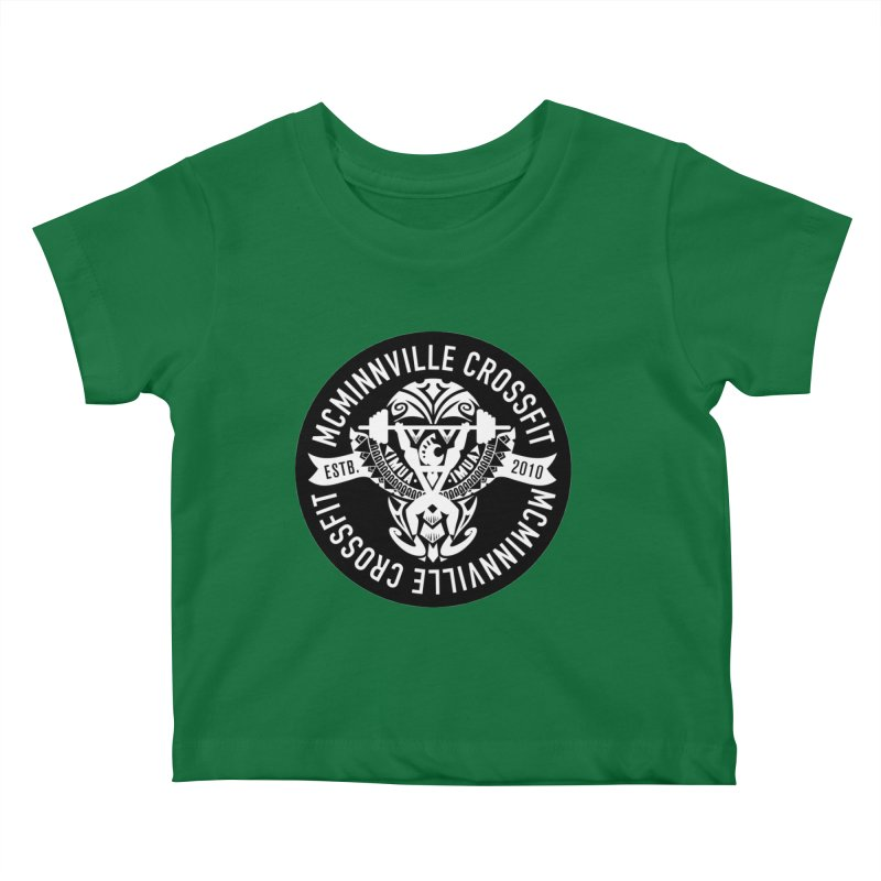 McMinnville CrossFit Tribal Kids Baby T-Shirt by McMinnville CrossFit Merch