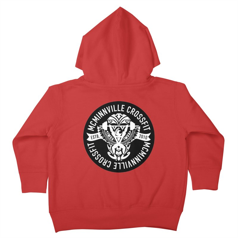 McMinnville CrossFit Tribal Kids Toddler Zip-Up Hoody by McMinnville CrossFit Merch