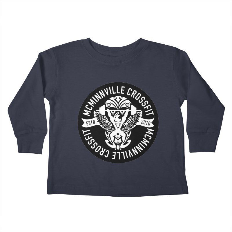 McMinnville CrossFit Tribal Kids Toddler Longsleeve T-Shirt by McMinnville CrossFit Merch